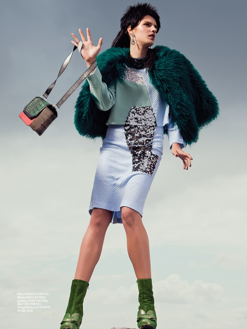 mad max couture7 Asia Piwka Dons Mad Max Couture for Glamour Poland by Michal Kar