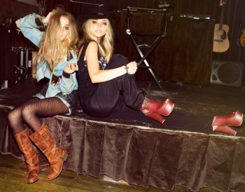 'The Blonde Belles' Star in Steve Madden's Fall 2013 Trendbook