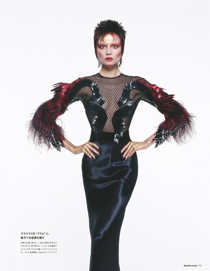 Magdalena Frackowiak Changes it Up for Numéro Tokyo by Sofia & Mauro