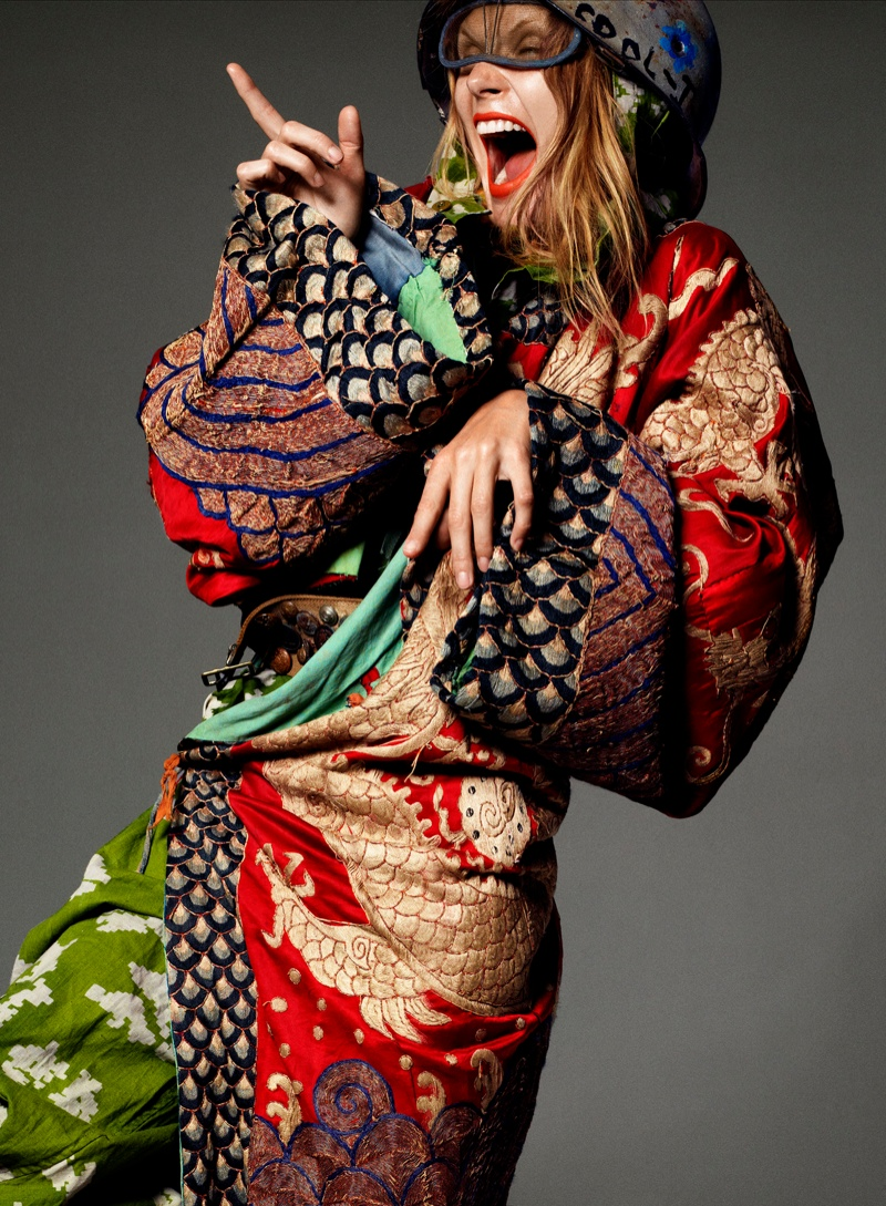 Malgosia Bela Transforms for Let's Panic Shoot by Aaron Ward
