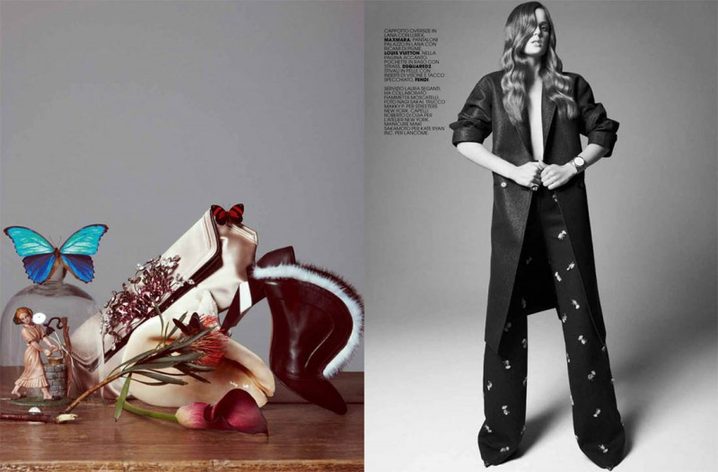 Ashtyn Franklin is Sultry & Sweet for Marie Claire Italia by Nagi Sakai