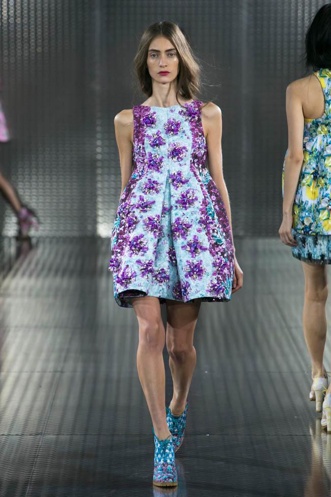 Mary Katrantzou Spring 2014 London Fashion Week