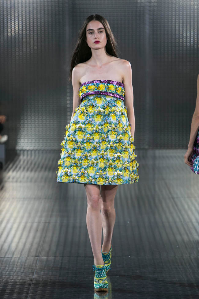 mary katrantzou spring 2014 22 Mary Katrantzou Spring 2014 | London Fashion Week
