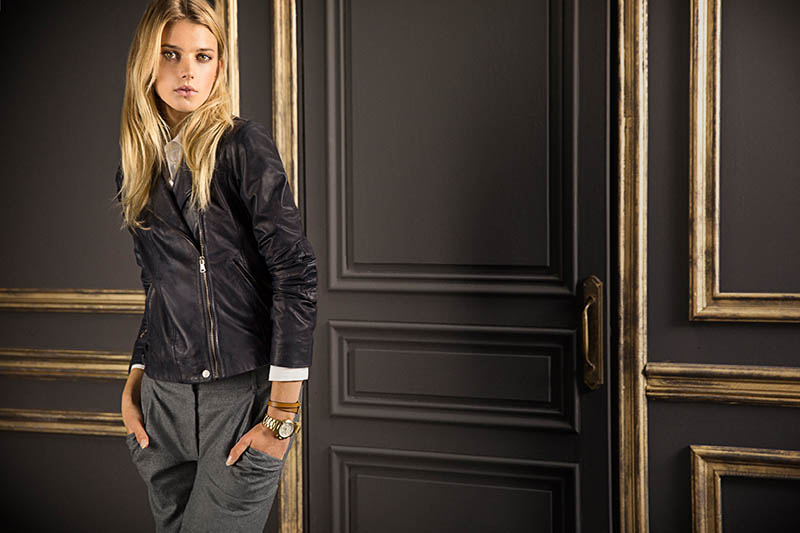 Sigrid Agren Fronts Massimo Dutti's September Lookbook