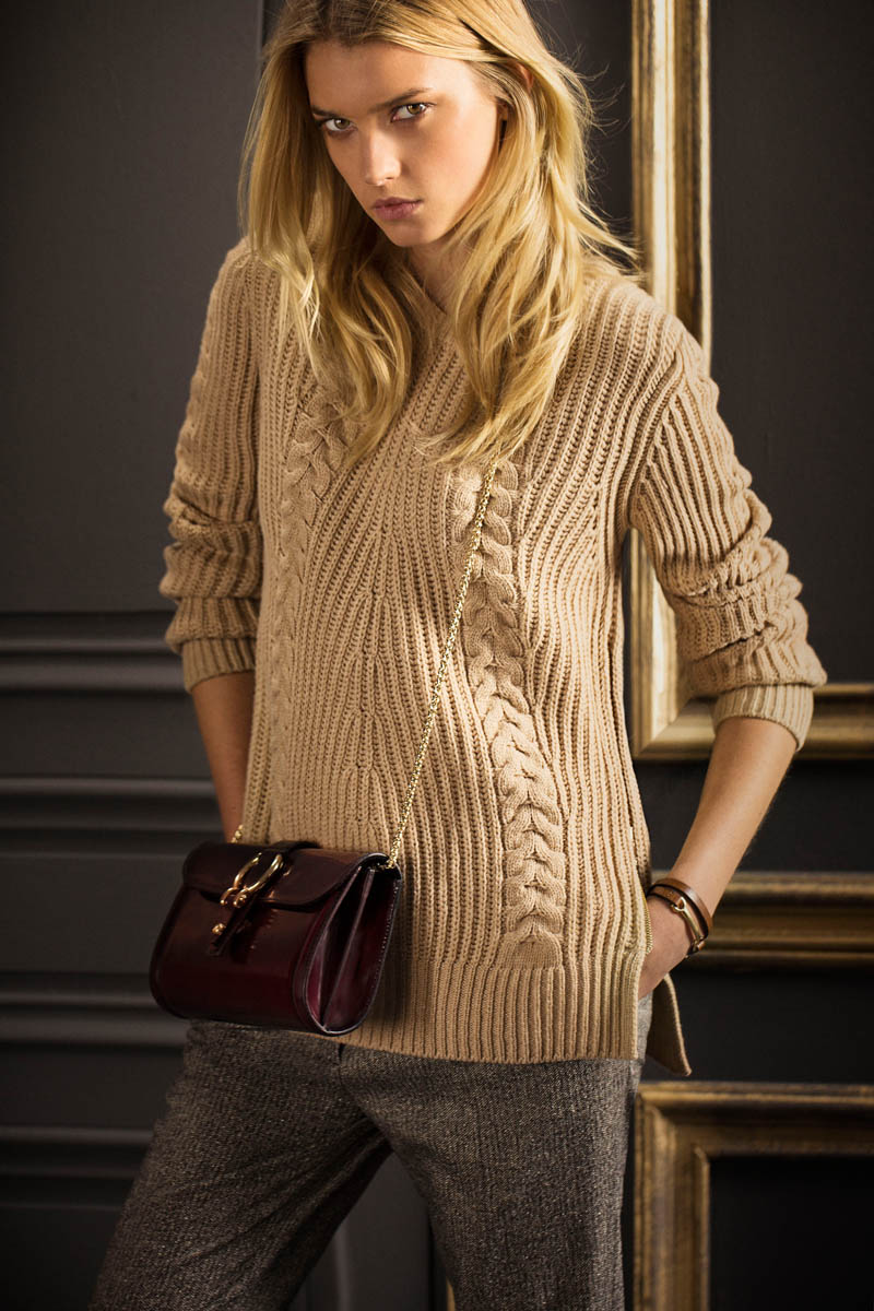 Sigrid Agren Fronts Massimo Dutti S September Lookbook
