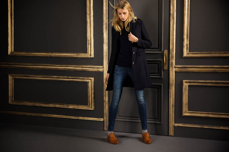 massimo september7 Sigrid Agren Fronts Massimo Duttis September Lookbook