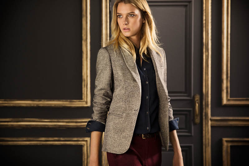 massimo september8 Sigrid Agren Fronts Massimo Duttis September Lookbook