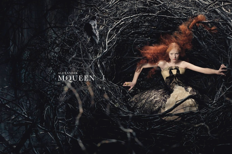 mcqueen fall 2008 advertisement 20 Advertisements From the Last 10 Years of Fashion