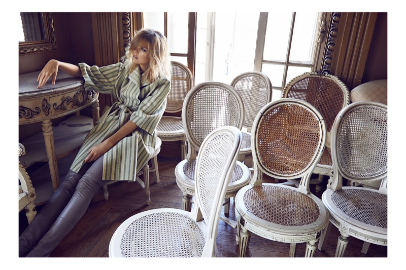Michaela Hlavackova Models for Maxima Portugal by Branislav Simoncik