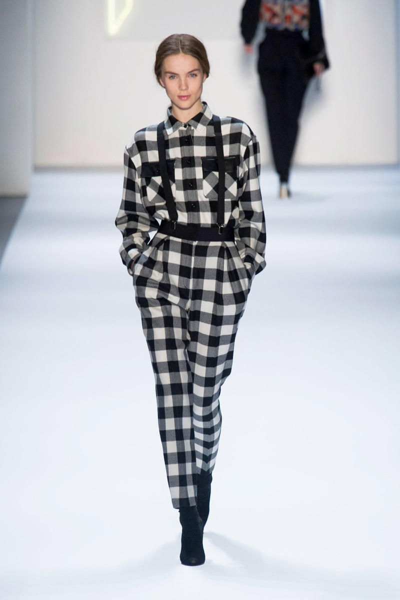 milly plaid look fw 6 Plaid Looks Inspired by Fall Runway Style