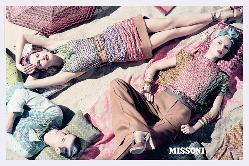 missoni spring 2009 advertisement 20 Advertisements From the Last 10 Years of Fashion