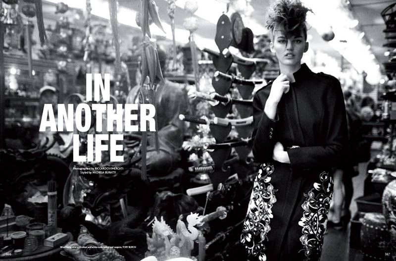 mojeh shoot1 Ali Stephens Enchants In Mojeh Magazine by Riccardo Vimercati