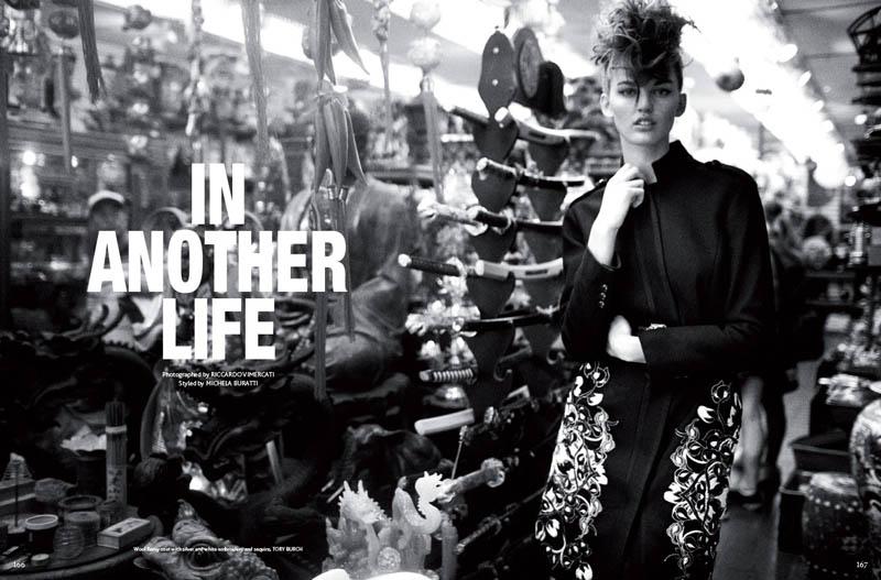 Ali Stephens Enchants In Mojeh Magazine by Riccardo Vimercati