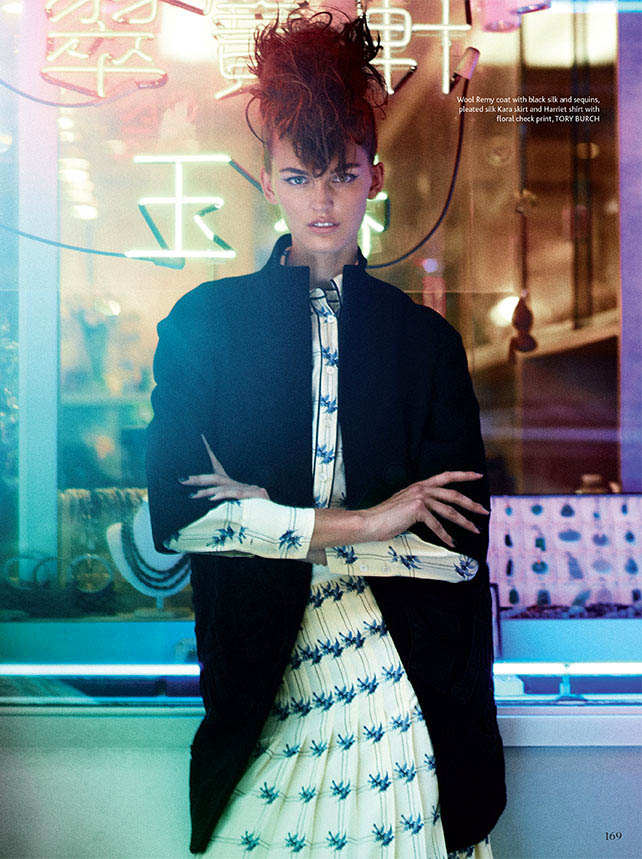 mojeh shoot3 Ali Stephens Enchants In Mojeh Magazine by Riccardo Vimercati