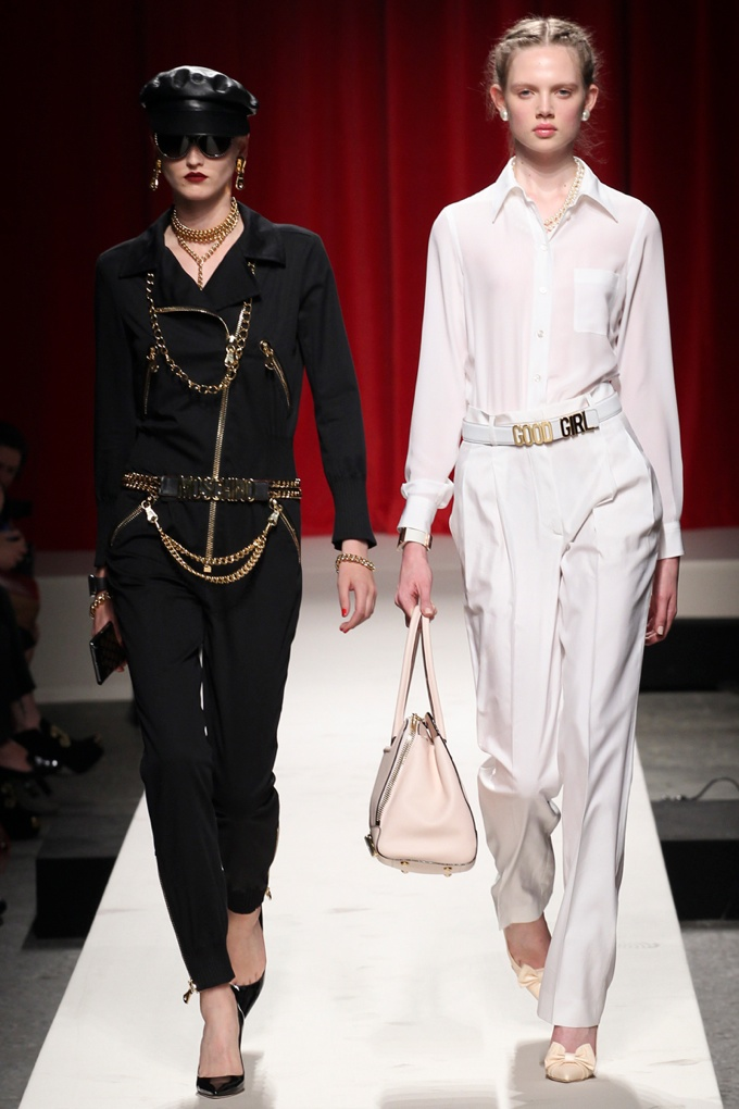 moschino Milan Fashion Week Spring/Summer 2014 Day 4 Recap | Bottega Veneta, Jil Sander, Roberto Cavalli + More