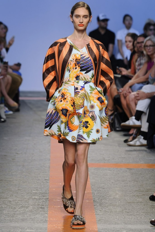 msgm Milan Fashion Week Spring/Summer 2014 Day 5 Recap | Dolce & Gabbana, Marni, Salvatore Ferragamo + More
