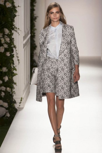 mulberry spring 2014 1 350x524 Mulberry Spring 2014 | London Fashion Week
