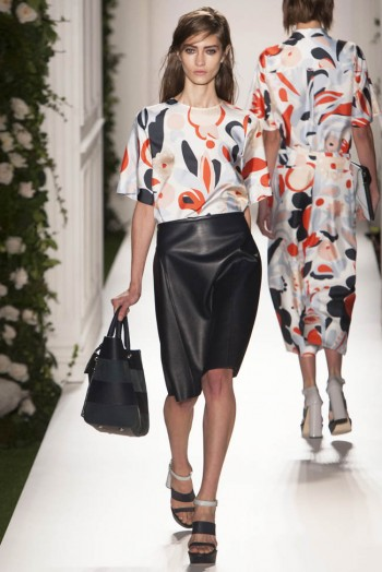mulberry spring 2014 12 350x524 Mulberry Spring 2014 | London Fashion Week