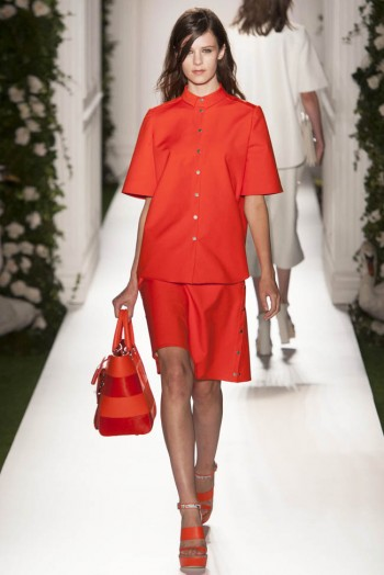 mulberry spring 2014 17 350x524 Mulberry Spring 2014 | London Fashion Week