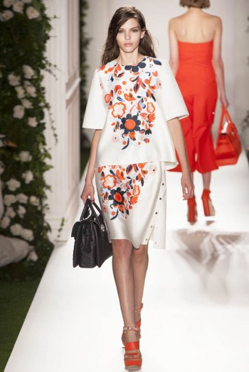 mulberry spring 2014 22 350x524 Mulberry Spring 2014 | London Fashion Week