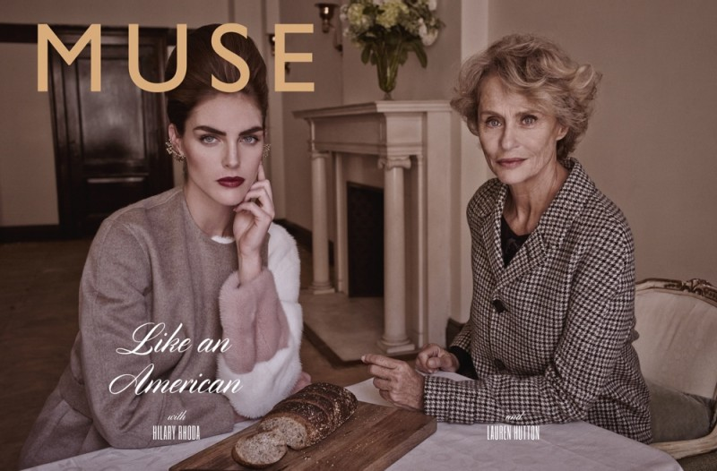 muse mariano vivanco1 800x526 Hilary Rhoda & Lauren Hutton Are Americana for Muse by Mariano Vivanco