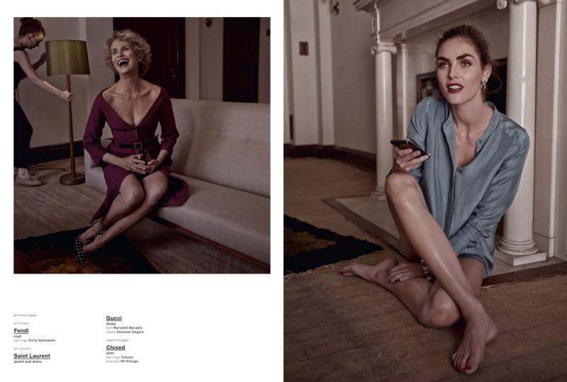 Hilary Rhoda & Lauren Hutton Are Americana for Muse by Mariano Vivanco
