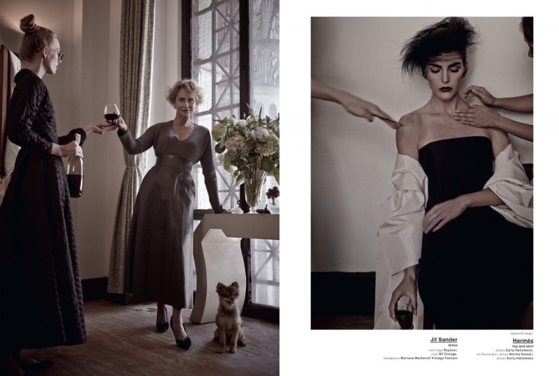 muse mariano vivanco7 800x539 Hilary Rhoda & Lauren Hutton Are Americana for Muse by Mariano Vivanco