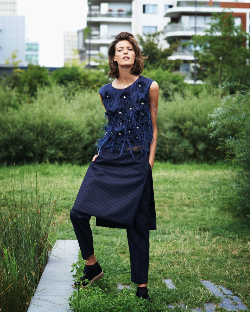 my theresa campaign6 Marikka Juhler Stars in MyTheresa.com Fall 2013 Campaign