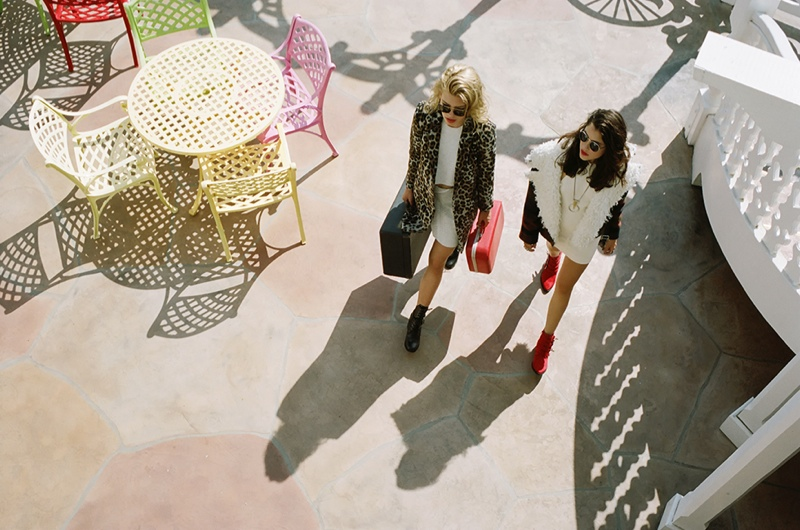 nasty gal ads2 Anna & Valerija Hit the Road for Nasty Gal Shoot by Jason Lee Parry