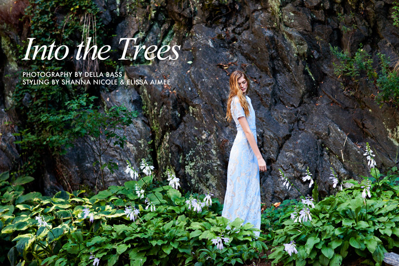 "Natalie Keyser by Della Bass in ""Into the Trees"" for Fashion Gone Rogue"