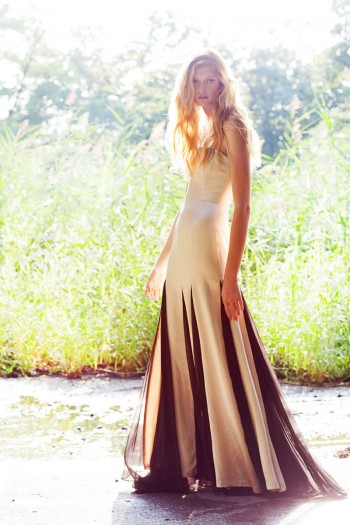 """Natalie Keyser by Della Bass in """"Into the Trees"""" for Fashion Gone Rogue"""