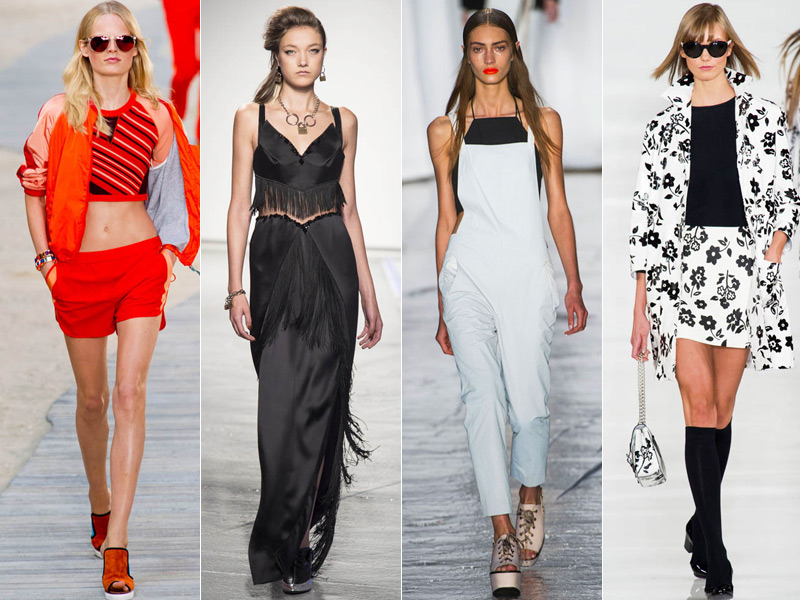 Yesterday, New York Fashion Week was brought to a close after a week of  shows. Designers previewed their spring 2014 collections and showed off new  styles ...