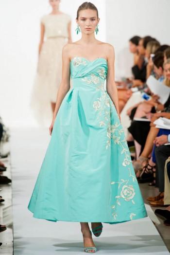Oscar de la Renta Spring 2014   New York Fashion Week