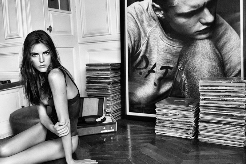 oysho lingerie hilary rhoda4 Hilary Rhoda Seduces for Oyshos Fall 2013 Lingerie Ads