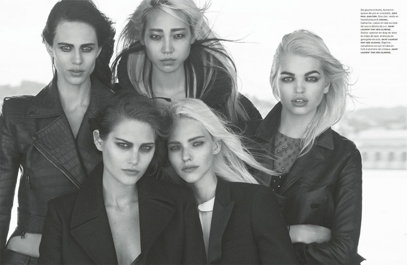 Daphne Groeneveld, Catherine McNeil, Soo Joo + More Pose for Peter Lindbergh in Numero #147