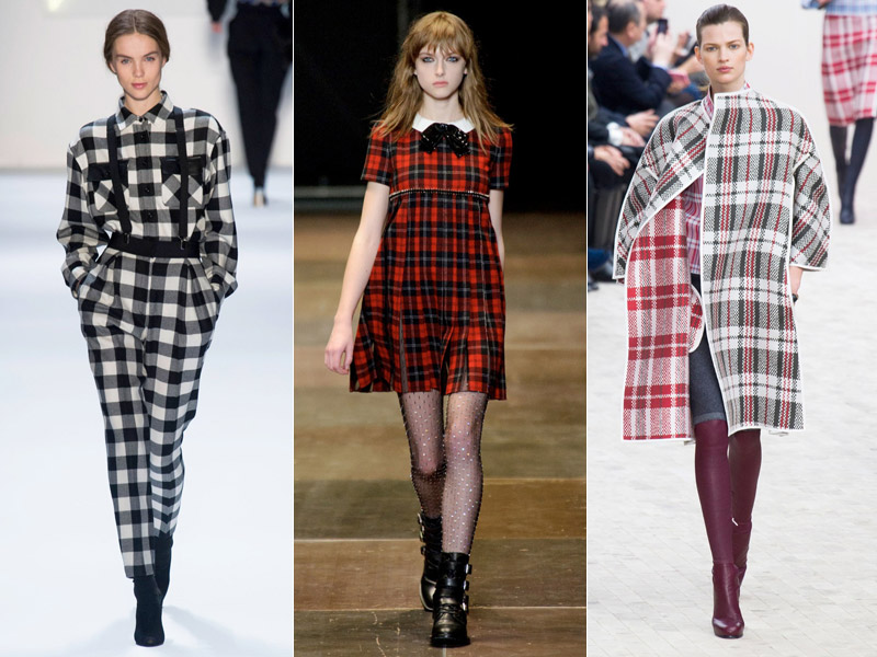 plaid runway trend 6 Plaid Looks Inspired by Fall Runway Style