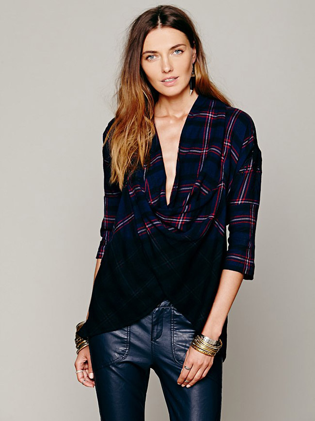 plaid shirt 9 Grunge Looks of the Season