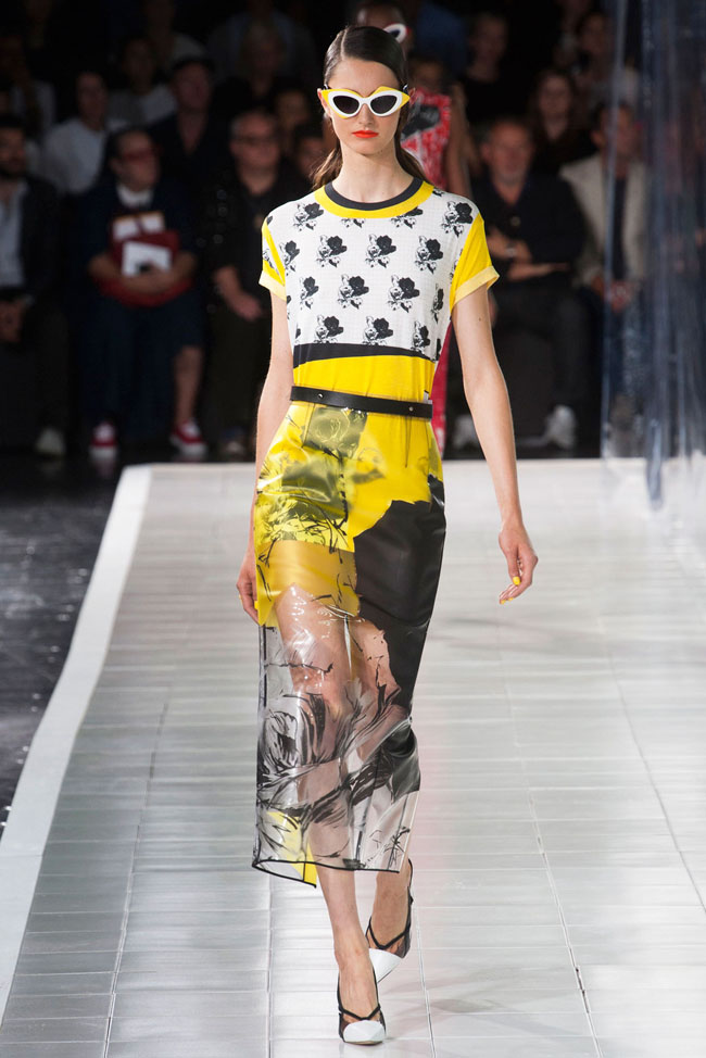 Black and White Florals – Prabal Gurung's retro futuristic woman ...