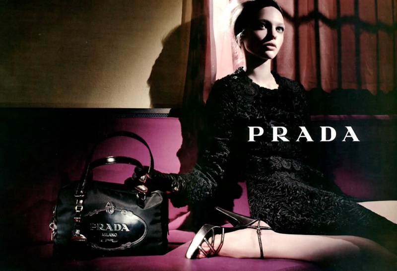 prada fall 2005 advertisement 20 Advertisements From the Last 10 Years of Fashion