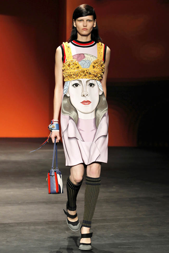 prada spring 2014 7 5 Amazing Milan Fashion Week Spring/Summer 2014 Trends