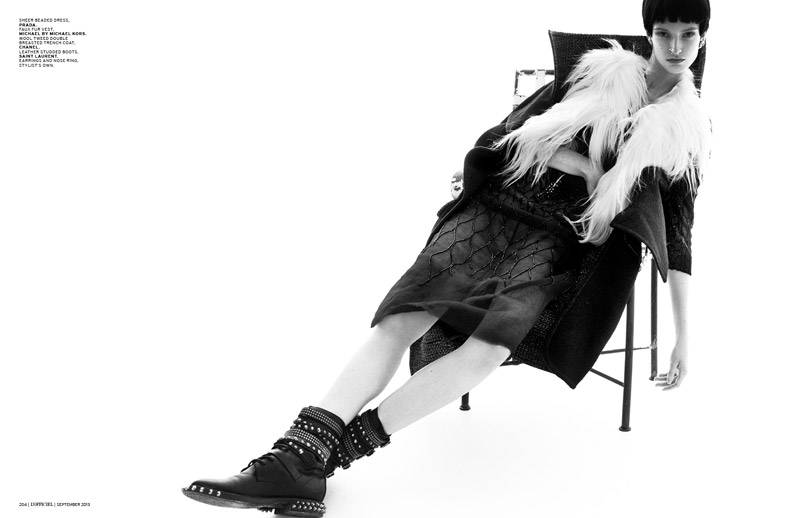 Helena Greyhorse Gets Rebellious for L'Officiel Singapore