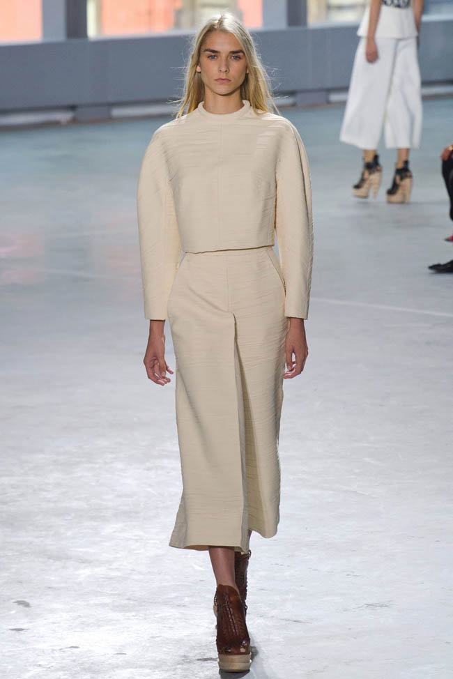 proenza schouler spring 2014 10 5 Surprising New York Fashion Week Spring 2014 Trends