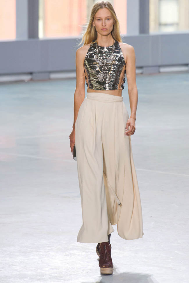 proenza schouler spring 2014 31 5 Surprising New York Fashion Week Spring 2014 Trends