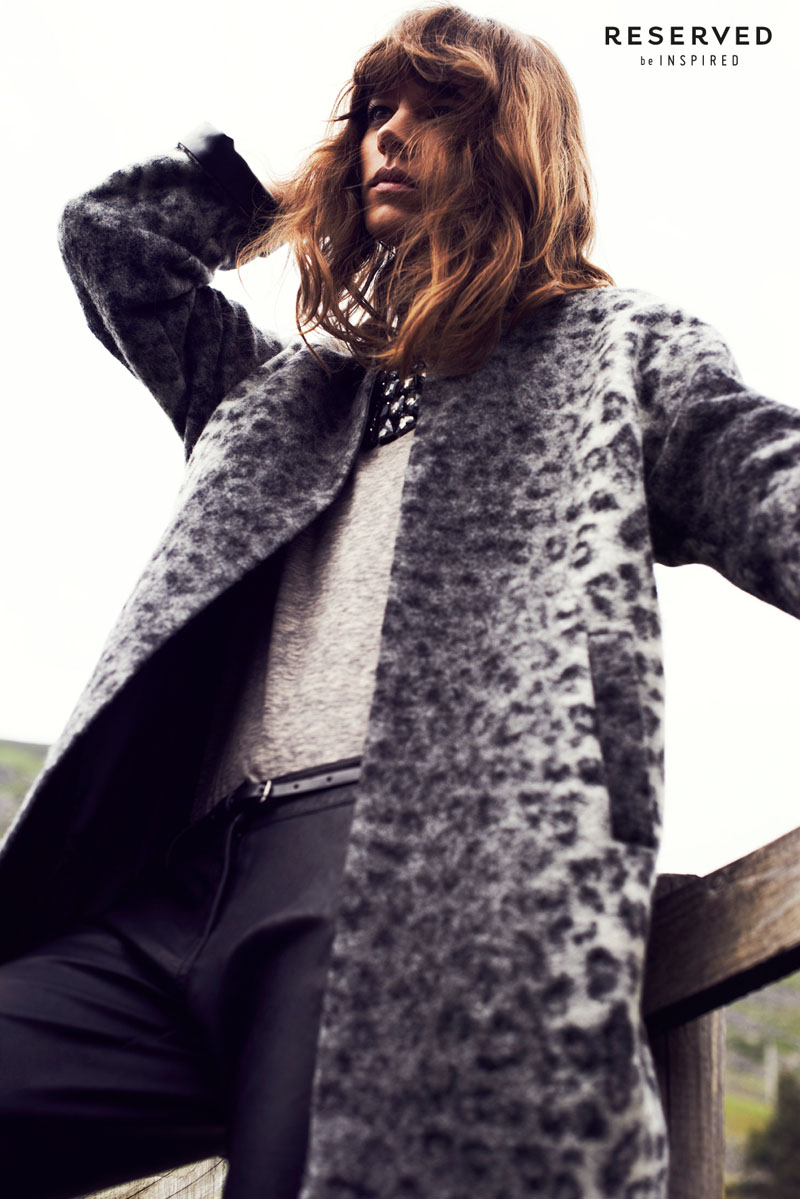 reserved fall ads10 Freja Beha Erichsen Exudes Cool for Reserveds Fall 2013 Ads