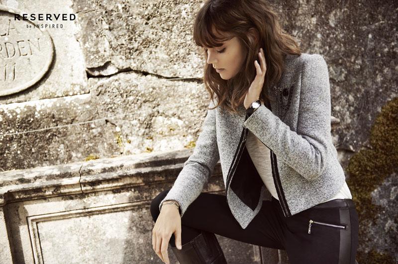 reserved fall ads13 Freja Beha Erichsen Exudes Cool for Reserveds Fall 2013 Ads