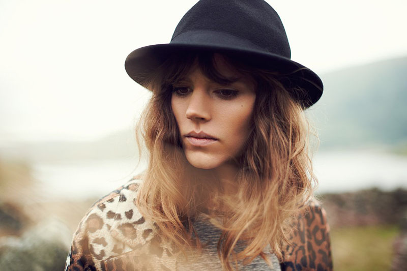 reserved fall ads15 Freja Beha Erichsen Exudes Cool for Reserveds Fall 2013 Ads