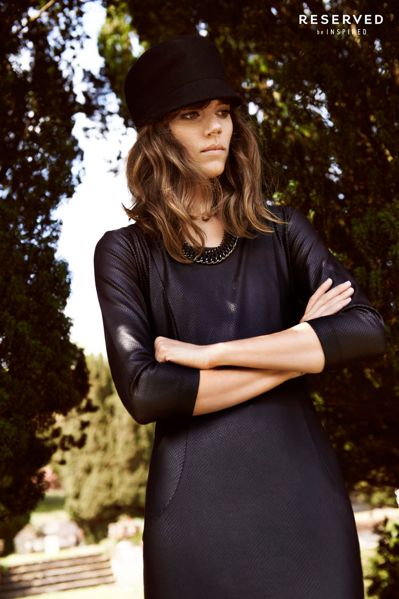 reserved fall ads17 Freja Beha Erichsen Exudes Cool for Reserveds Fall 2013 Ads