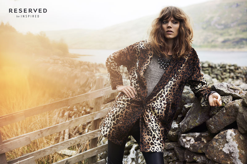 reserved fall ads20 Freja Beha Erichsen Exudes Cool for Reserveds Fall 2013 Ads