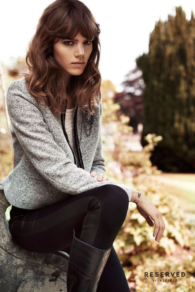 Freja Beha Erichsen Exudes Cool for Reserved's Fall 2013 Ads