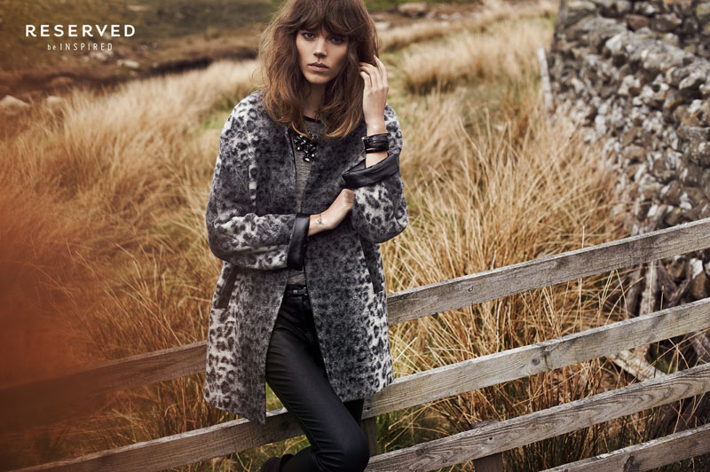 reserved fall ads5 Freja Beha Erichsen Exudes Cool for Reserveds Fall 2013 Ads